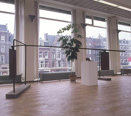 Expositie nieuwe vleugel Stedelijk Museum Amsterdam